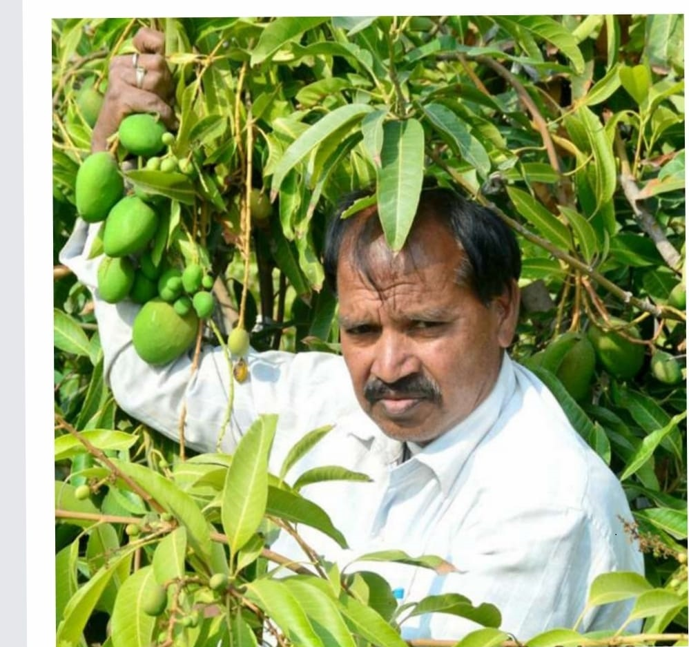 Farmer Suman Kishore (Image Credit - Google)