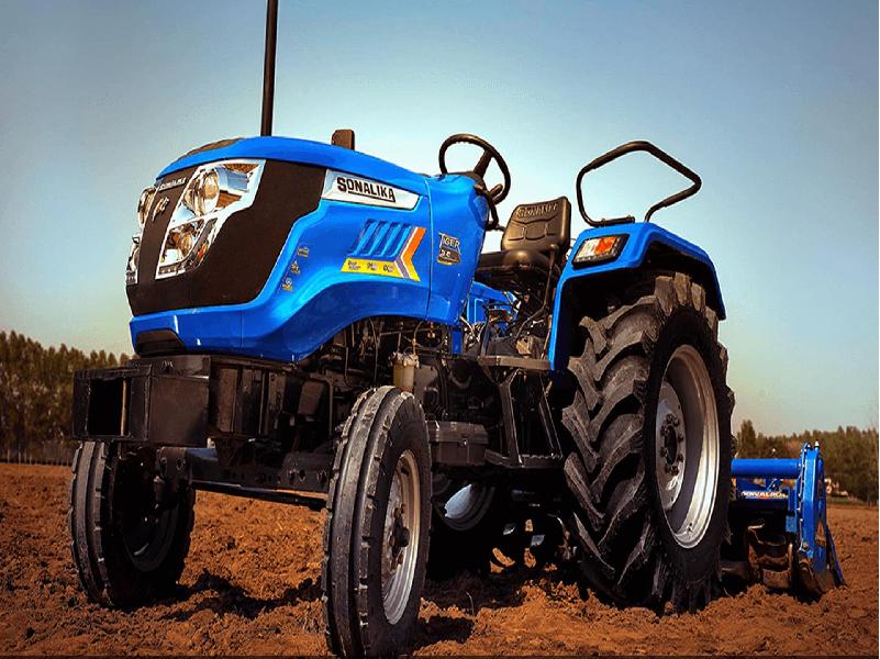 Sonalika Tractor (Image Credit - Google)
