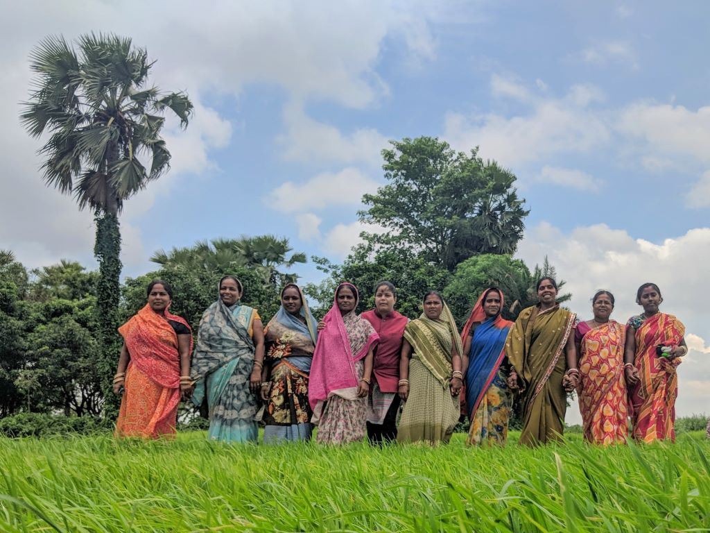 Indian Women In Cultivation