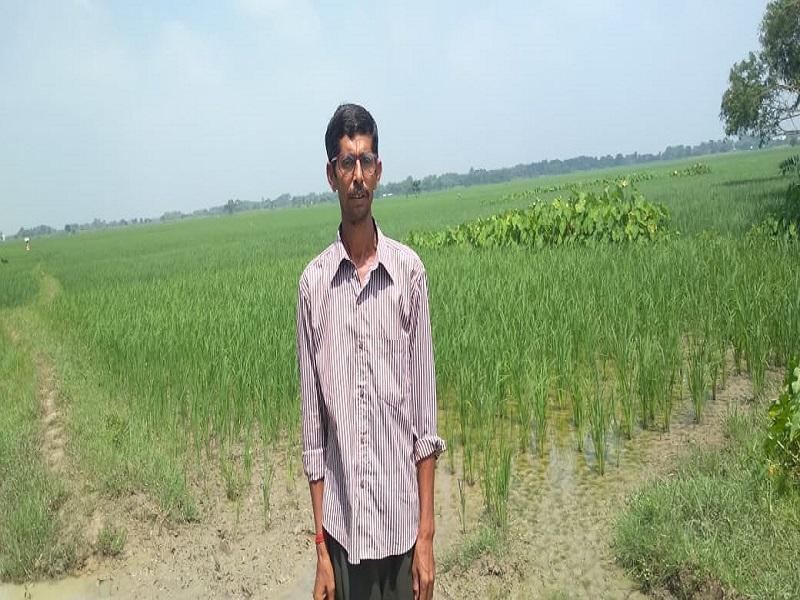 Farmer Utpal Ray