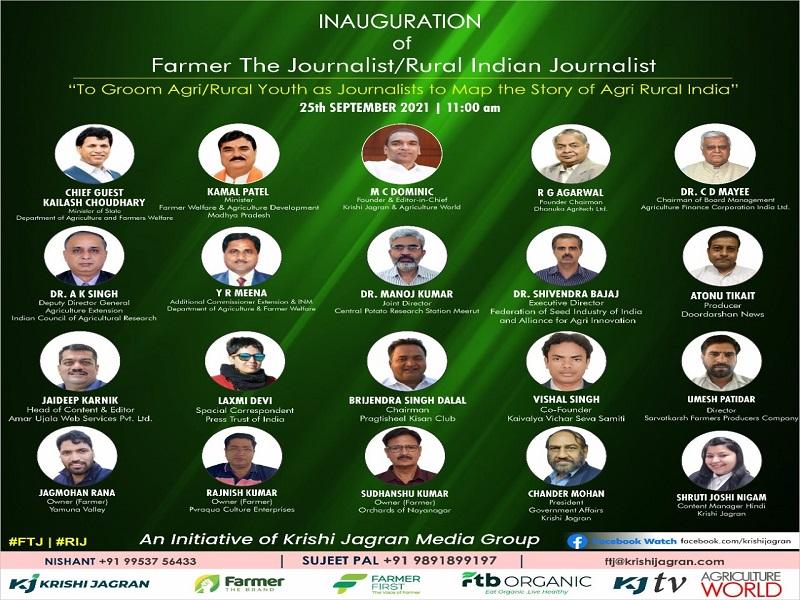 Farmer - the Journalist launch program