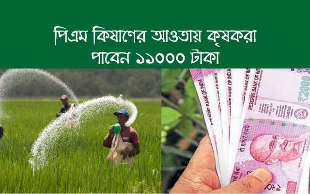 (Get fertilizer subsidy of Rs 5,000) প্রধানমন্ত্রী-কিষাণ –এর আওতাভুক্ত কৃষকরা ৬,০০০ টাকা ছাড়াও পাবেন পাঁচ হাজার টাকার সার ভর্তুকিতে, সুপারিশ সিএসিপি-র
