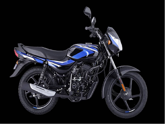 New model of Bajaj CT 100