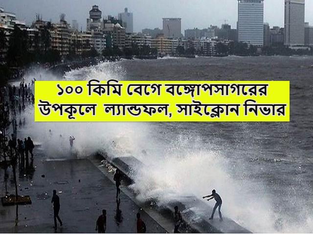 (Cyclone Nivar to hit Bay of Bengal) বঙ্গোপসাগরের উপকূলে আছড়ে পড়তে চলেছে সাইক্লোন নিভার, কৃষিক্ষেত্রে উদ্বেগ, জারি সতর্কতা