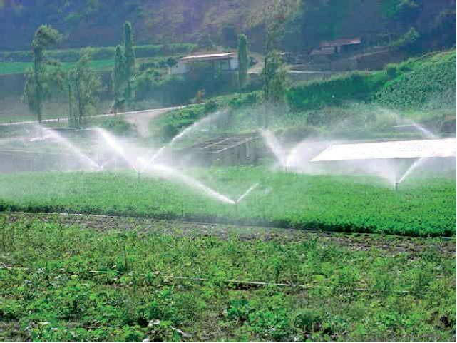 Agri machinery subsidy - Raingun irrigation system