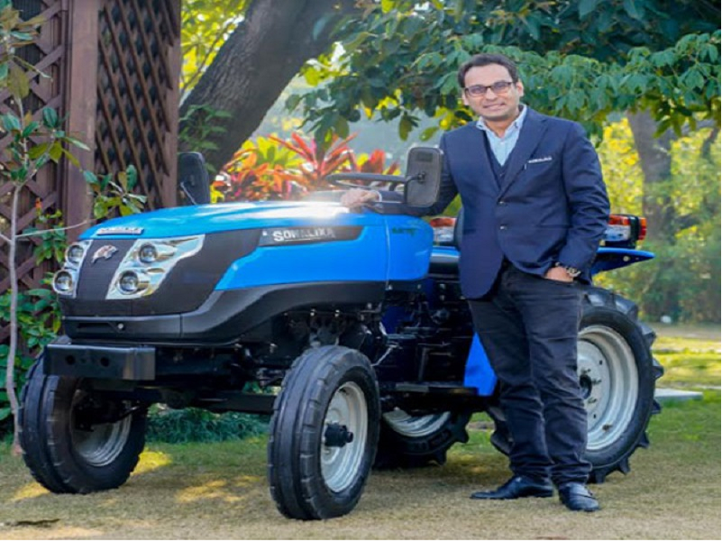 Sonalika Tiger Electric Tractor (Image Credit - Google)