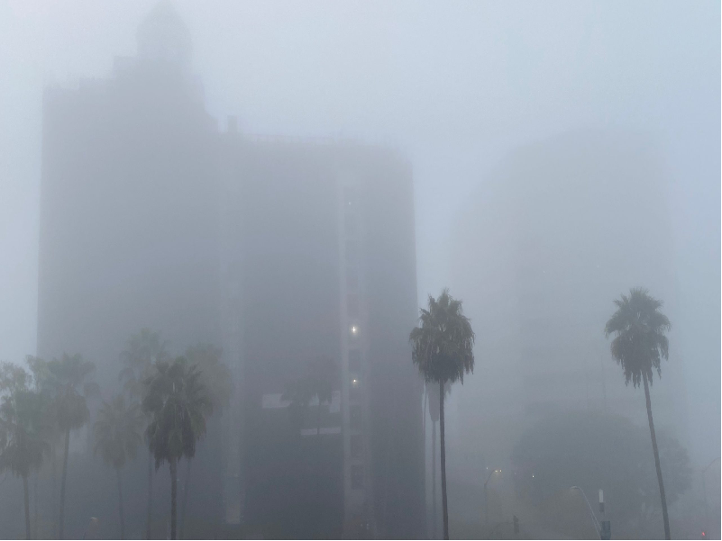 Foggy Weather (Image source - Google)