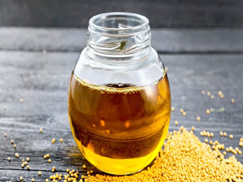 Pure Mustard Oil (Image Credit - Google)