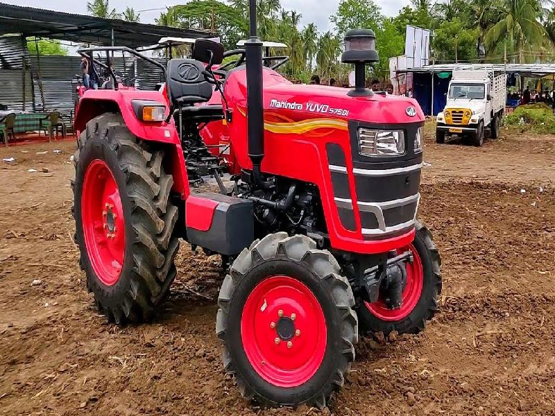 Mahindra Tractor (Image - Google)