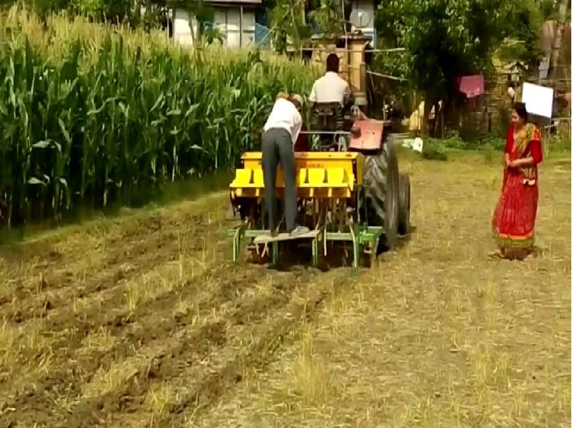 Zero tillage farming (Image Credit - Google)