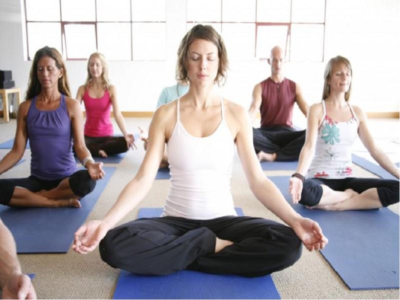 Yoga pose (Image Credit - Google)