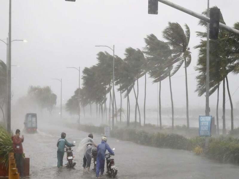 Cyclone Taukate